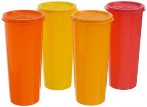 Tupperware Jumbo 4 Tumblers Set, 470ml