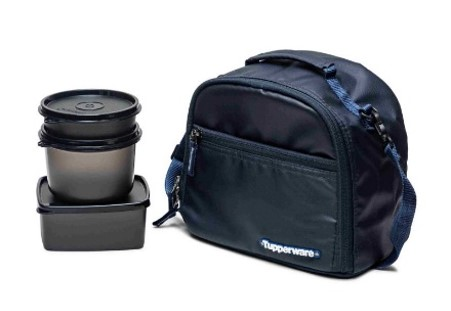 Tupperware HIS LUNCHSET With BAG
