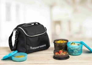 Tupperware Cosmo Lunch Set