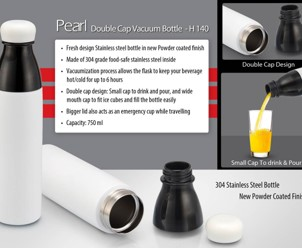 Pearl Double Cap Vacuum Bottle 750 ml