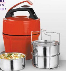 Octameal Lunch Box – 3 Steel containers