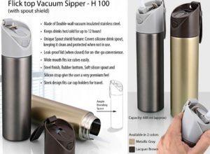 Vacuum Flask with Flick open