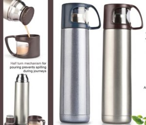 Vacuumed Travel Flask