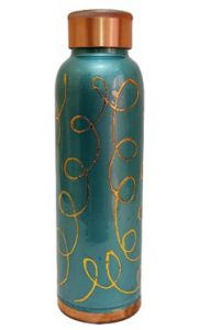 Designer Copper Water Bottle