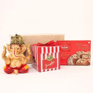 Ganesha Idol Choco & Sweet Hamper