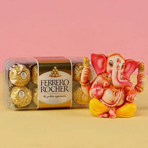 Ganesha Luck with Chocolate