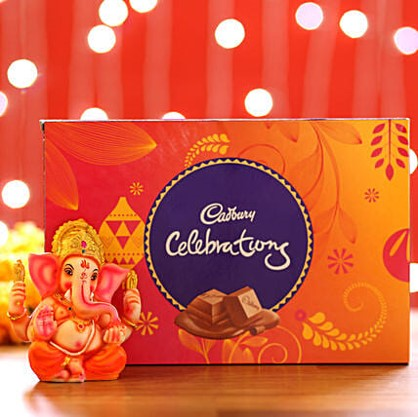 Cadbury Celebration & Ganesha Idol
