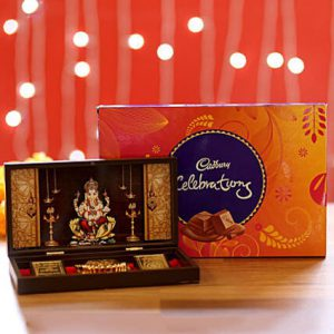Ganesha Pooja Box & Chocolates