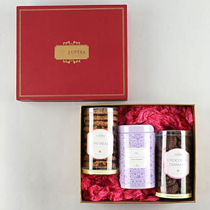 L'Opera Tea Time Hamper