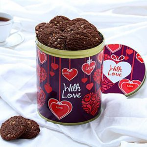 With Love Cookie Box 600 Grms