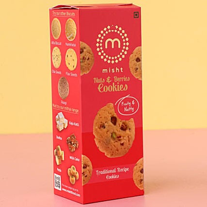 Misht Nuts Berries Cookies