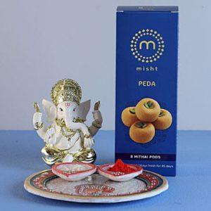 Ganesha Idol Pooja Hamper